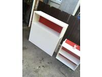 IKEA SINGLE HEADBOARD WITH PULL OUT STORAGE ** FREE DELIVERY IS AVAILABLE **