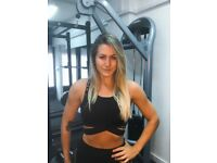 FEMALE PT IN AN EXCLUSIVE PRIVATE FITNESS STUDIO