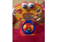 Baby basket ball toy