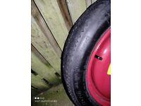 Peugeot Spare Wheel & Tyre