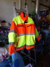 PPE Hi Viz Jacket xxl