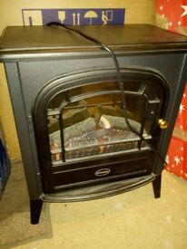 DIMPLEX CLB20R Club Traditionally Styled Optiflame Effect Electric Stove, 2 Kilowatt £120