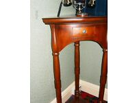 LOVELY CORNER TELEPHONE REPRODUCTION VICTORIAN STYLE