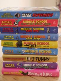 Middle School Books by James Patterson