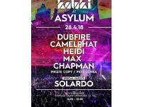 cream & circus present - kaluki at the asylum Tickets Available