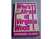Who's Afraid of Virginia Woolf book