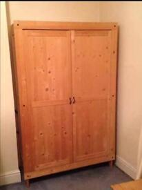 Solid pine wardrobe in good condition can deliver