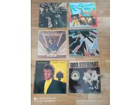 ROD STEWARD 9 ALBUMS VINYL RECORDS £30