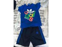 Adidas shorts & T-shirt & jacket 2-3years