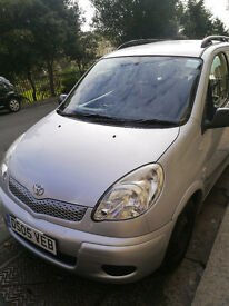 Toyota Yaris Verso 2005 very low mileage FSH in very good conditions