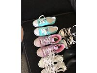 Girls clothes and shoes bundle aged 7-8