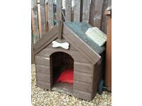 Cat dog kennel box outdoor wooden bed guinea pig rabbit