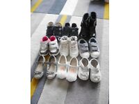 Infant girls size 5 shoes