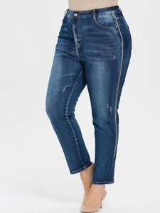 Plus size women's bottoms: jeans, pants, leggings and skirts