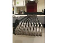 Ben Sayers golf clubs - set of irons and putter