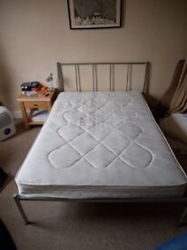 Double bed with Mattress for sale