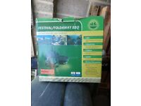 Fesyival/ camping bbq. Never used, in box.