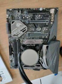 Maximus X HERO Motherboard / Intel i7 8700K CPU / NZXT Kraken X52 COOLER Bundle