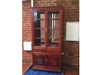 Chinese Style Rosewood Display Cabinet