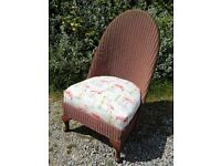 Genuine Lloyd Loom Bedroom Nursing Chair