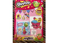 Shopkins make your own cards craft set
