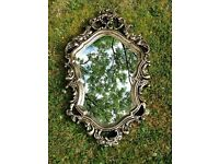 Gold Gilt Rococo/Shabby Chic mirror