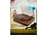 Record/ vinal/ turntable brand new Christmas present