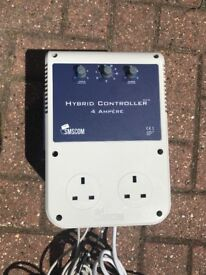 Cheshunt Hydroponics Store - used 4amp Hybrid SMSCOM twin fan controller