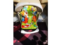 FISHER PRICE RAINFOREST FRIENDS BABY SWINGING SEAT FANTASTIC CONDITION