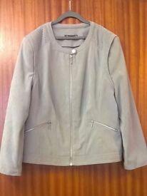 Ladies BonMarche Grey Jacket - BNWT - Size: 14