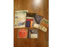 Learn Norwegian books and CD's excellent condition