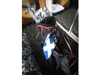PENFOLD OVERSIZED GOLF CLUBS FULL SET AND BAG/ACCESSORIES