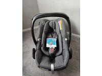 Maxi Cosi Pebble Plus infant car seat (from newborn) sparkling grey