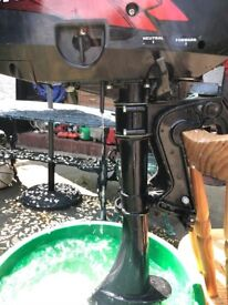 Tohatsu 3.5hp long shaft 2 stroke motor