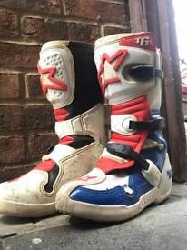 Alpinestars MX Motocross Boots Size 6