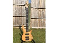 ESP LTD B-1005 NS Deluxe, 5 String bass with dual active EMGs- Trades?
