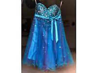 Sequinned prom dress