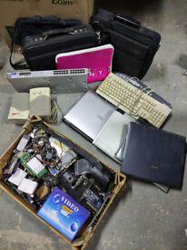 PCs, laptops and parts - free