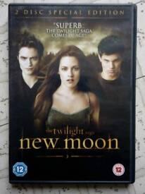 Twilight New Moon dvd
