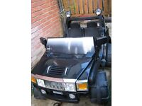 Battery operated 2 seater jeep
