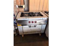Two Burner cooker with oven EN233 (oct)
