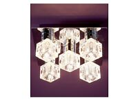 Used Ice Cube Square Ceiling light for sale!