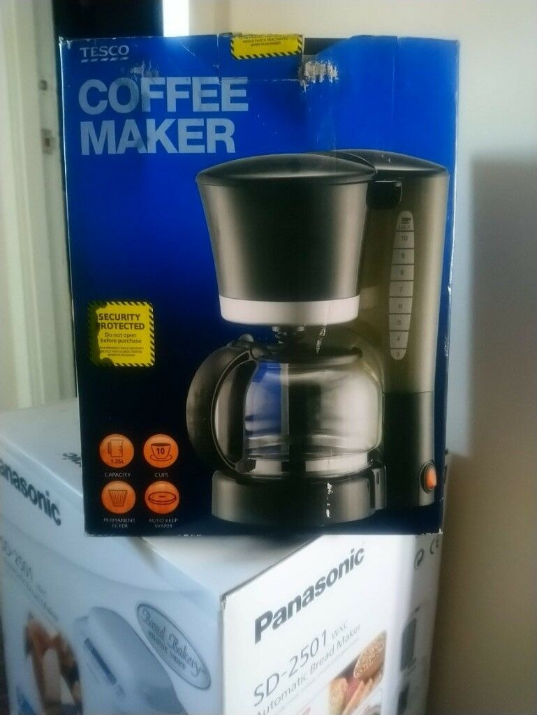 Tesco Filter Coffee Maker Unused In Box In South Queensferry Edinburgh Gumtree