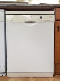 Bosch SGS46E22G Full Size Dishwasher in White