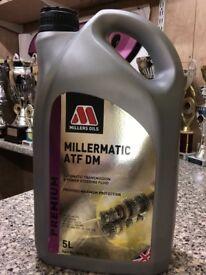 Millers oils miller magic atf dm Range Rover gear oil