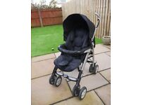 Silver Cross 3d travel system pram with car seat and Isofix base