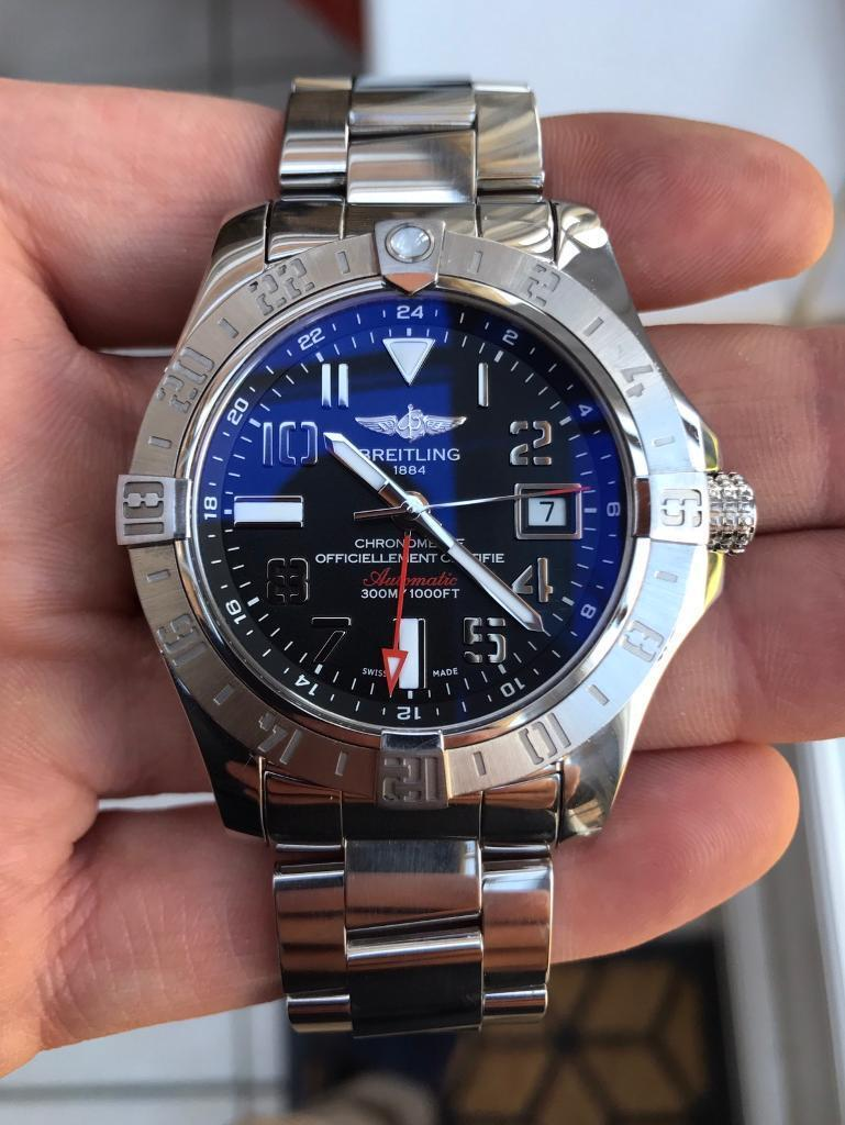 huge selection of 97c67 5a658 Breitling Avenger II GMT A3239011/BC34 | in Haywards Heath, West Sussex |  Gumtree