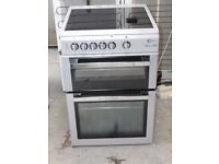 FLAVEL CHROME DESIGN FREE STANDING 60cm ELECTRIC COOKER FOR SALE, EXCELLENT CONDITION