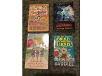 Bundle of 4 books (NEW)
