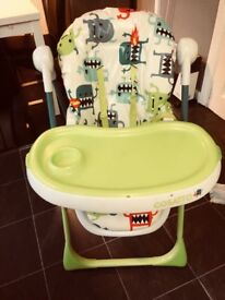 Cosatto high chair good as new